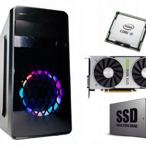KOMPUTER DO GIER i5 16GB GTX1650SUPER 240SSD W10