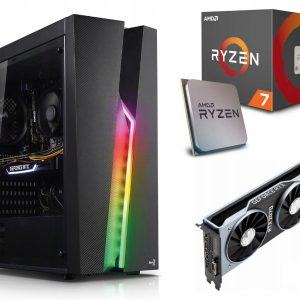 GAMER PC! Ryzen 7 2700X 16GB 512M.2 RTX2070