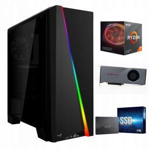 Komputer Ryzen 7 3700X 16G 240SSD RX5700XT 8GB W10