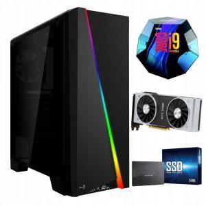 Komputer i9-9900K 480GB M.2 1TB RTX 2080 SUPER W10