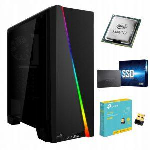 Komputer Core i7 SSD GTX1660 Ti DDR6 32GB WiFi W10