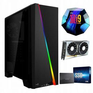 Komputer i9-9900K 240GB M.2 1TB RTX2060 16GB W10