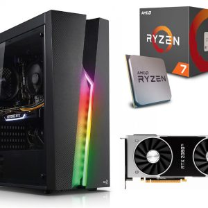 GAMER PC! Ryzen 7 2700X 16GB 512M.2 RTX2080Ti