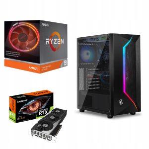 PRIME! Ryzen 9 3900X 32GB 960SSD RTX3060Ti W10
