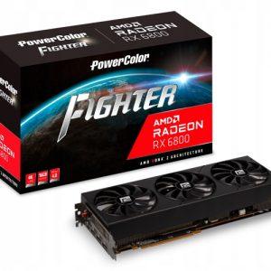 Karta PowerColor Radeon RX 6800 Fighter 16GB GDDR6