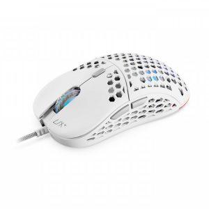 Mysz SPC GEAR LIX PLUS RGB PMW3360 12000DPI Biała