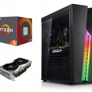 Komputer AMD Ryzen 5 1600 AF 16GB 480SSD RTX 2060