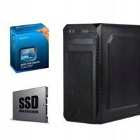 KOMPUTER INTEL CORE i5 4×3,4 8GB RAM 240SSD DVD-RW