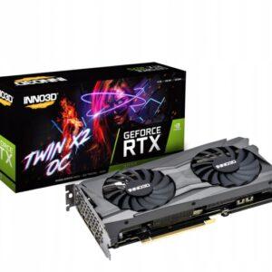 Karta graficzna Inno3D RTX 3070 Twin X2 OC 8 GB