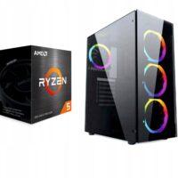 Komputer RGB Ryzen 5 5600X 32GB 1TB RTX 3060