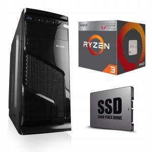 KOMPUTER DO GIER 12 Rdzeni! 480SSD Radeon 16G DDR4
